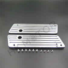 Metal Chrome Saddlebag Latch Covers For Harley-Davidson TOUR HD Glide Saddle Bag