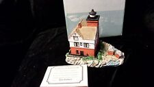 Round Island - Harbour Lights - #153 - #3509/8500 with Coa (box but no styrofm