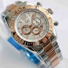 GUESS COLLECTION Gc Chronograph Men's Two Tone Bracelet Watch Y02006G1