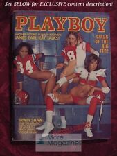 PLAYBOY September 1977 DEBRA JO FONDREN JEAN MANSON BIG TEN GIRLS IRWIN SHAW