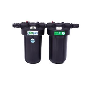 Ecopure Pro 3H+ Whole house drinking water filter. Advanced filtration.