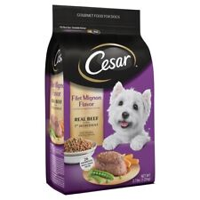 Cesar Gourmet Food For Dogs Filet Mignon Flavor 2.7 lbs. Bag