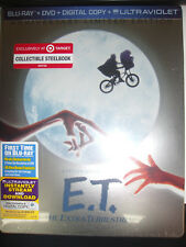 ET Blu-Ray SteelBook Target Exclusive Extra-Terrestrial Anniversary SEALED New