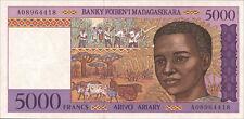 Madagaskar / Madagascar 5000 Francs (1995) Pick 78a UNC