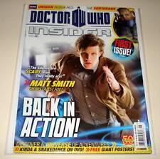 DOCTOR WHO INSIDER MAGAZINE # 1   May 2011    Matt Smith