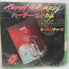 "Keith Richards - Harder They Come / Run Rudolph 7"" japanese sleeve toshiba"