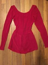 Sparkly Red Figure Skating Dress Children's 12-14