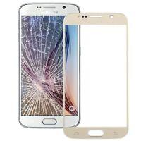 Samsung Galaxy S6 Vetro Ricambio per Schermo Touch Screen Frontale Gold
