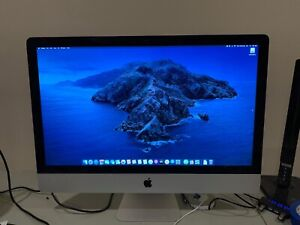 """Apple iMac 27"""" Core i5 2.9GHz 16GB Ram 1TB SSD Fusion - Late 2012 Cracked LCD"""