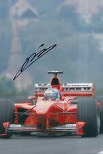 Mika Salo Hand Signed Scuderia Ferrari 12x8 Photo F1 10.