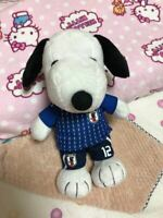 Soccer Japan National Team PEANUTS Snoopy Collaboration Plush Super Rare