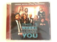 THIS IS WHERE I LEAVE YOU Movie CD Album Advance Soundtrack EXTREMELY RARE PROMO