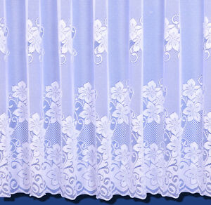 Heidi Heavyweight Scalloped Net Curtain - Sold By The Metre - Free Postage!