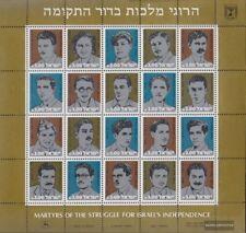 Israele 897-916 ZD-archi (completa edizione) MNH 1982 Martiri