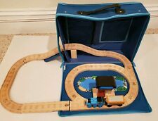 Thomas Wooden Rare Tidmouth Travel Set Exclusive Orange Rickety /Ticket Booth