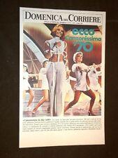 Anno 1970 Raffaella Carrà e Canzonissima '70 Copertine Domenica Corriere