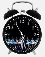 """Ballet Alarm Desk Clock 3.75"""" Home or Office Decor Z138 Nice For Gift"""