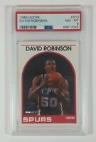 David Robinson 1989 Hoops Basketball Rookie Card RC #138 PSA 8 New Case!