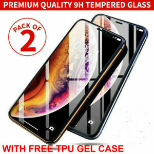 Gorilla Tempered Glass Screen Protector for New iPhone 11 12 Pro X XR XS  Cover