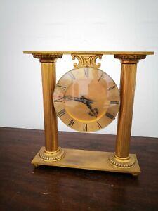 Hour-Lavigne pendule portique en laiton mécanique portique
