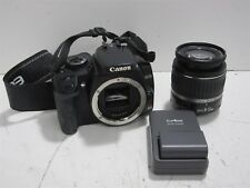 Canon EOS Rebel XTI 10.1 MP Digital Camera W/ Battery/Charger-EFS 18-55mm Lens