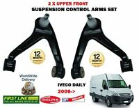 FOR IVECO DAILY 2006->NEW 2X UPPER LEFT + RIGHT SIDE WISHBONE SUSPENSION ARM SET