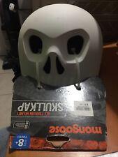 Mongoose Helmet New Matte White Skull Youth 8+ Bike Skateboard Cycle Paint It
