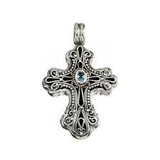 Gerochristo 5313N ~ Sterling Silver Medieval-Byzantine Cross Pendant