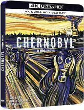 CHERNOBYL STEELBOOK 4K ULTRA HD BLU RAY + BLU RAY   NEUF SOUS CELLOPHANE