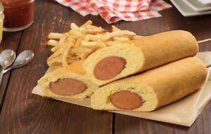 1kg Corn Dog Mix Batter American Style Battered Sausage Stick Hot Snack recipe