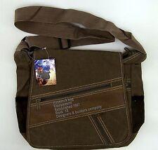 Army Tasche  Arbeitstasche  Umhängetasche  Herrentasche Antik Finish braun