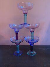 5 Outdoor Margarita  Glasses Multicolored