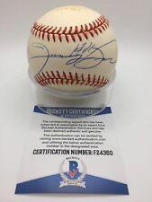 Sammy Sosa Home Run Signed AUTOGRAPH OMLB Baseball 60 of 60 BAS BECKETT F24360