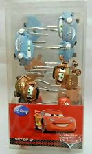 Disney Pixar Cars Set Of 12 Shower Curtain Hooks