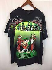 Vintage Looney Tunes Alien T Shirt Size XL Tee Rare 1990s Read Description HC