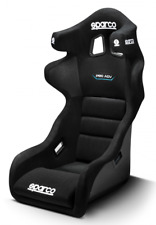 Sparco Pro ADV QRT Fibreglass Race/Rally Seat in Black, FIA Approved