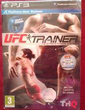 SIGILLATO UFC trainer FITNESS PS3 con laccetto da gamba playstation move ITA NEW