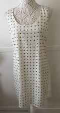 Oasis Cream Dress Size 12