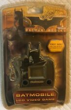 Batman Begins Batmobile LCD Video Game with Attached Keychain Clip