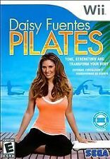 Daisy Fuentes Pilates - Nintendo Wii Sega of America Video Game