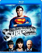 SUPERMAN THE MOVIE (CHRISTOPHER REEVE, GENE HACKMAN) *NEW BLU-RAY*