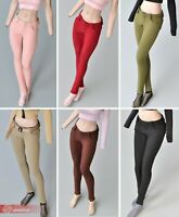 """1/6 Female Slim Pants Trousers  Clothes Model Toy for 12"""" Phicen Figure Body"""