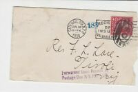 united states 1930 to pay postage due  stamps cover ref 19985