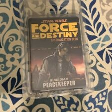 Star Wars Force and Destiny Specialization Deck Guardian Peacekeeper card game
