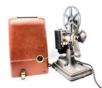 VINTAGE 8 MM REVERE MODEL 85 FILM PROJECTOR W/ ORIGINAL CASE