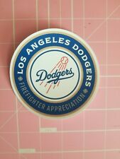 Los angeles dodgers decal firefighter Appreciation