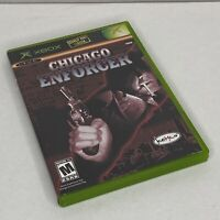 Chicago Enforcer Microsoft Xbox 2005 Complete Game With Manual Tested
