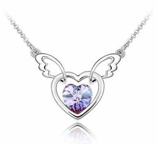 Crystal White Gold Filled Fashion Necklaces & Pendants
