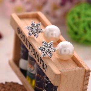 Lovely Teenage Fashion Bridal / Brides maid Crystal Pearl Drop Wedding Earrings