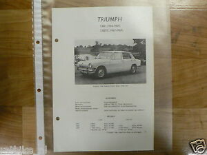 TR7-TRIUMPH TYPE 1300 EN 1300TC 1966-1969--TECHNICAL IN